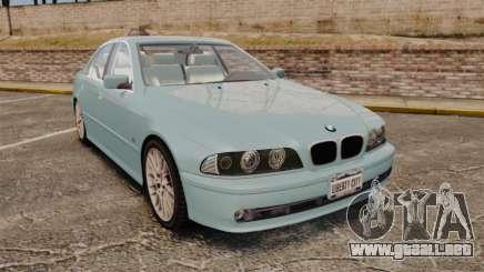 BMW 525i (E39) para GTA 4