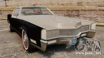Cadillac Eldorado Coupe 1969 para GTA 4
