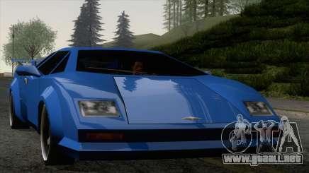 Infernus 80s para GTA San Andreas