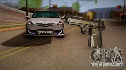 El arma de la Max Payne para GTA San Andreas