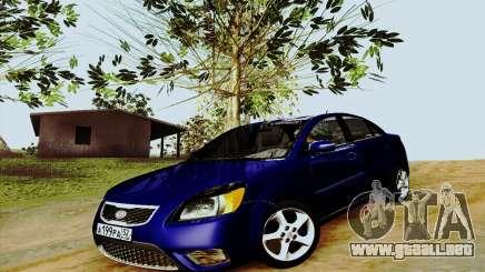 Kia Rio II 2009 para GTA San Andreas