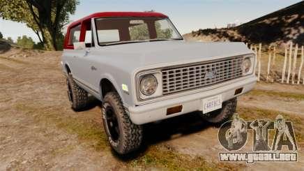 Chevrolet K5 Blazer para GTA 4