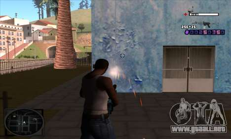 C-HUD Belenky para GTA San Andreas tercera pantalla