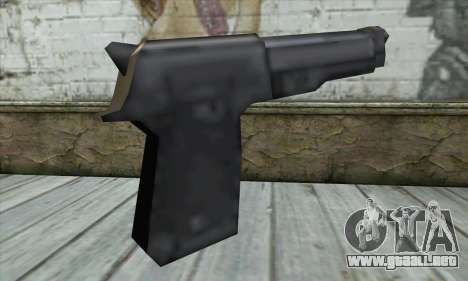 Beretta para GTA San Andreas segunda pantalla