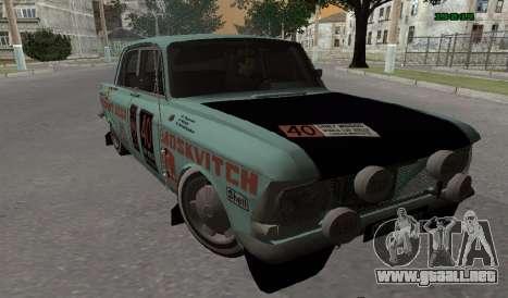 Moskvich 412 Rally para GTA San Andreas left