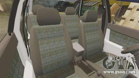 VAZ-Lada Priora 2170 para GTA 4 vista desde abajo