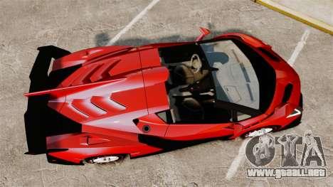 Lamborghini Veneno Roadster LP750-4 2014 para GTA 4 visión correcta