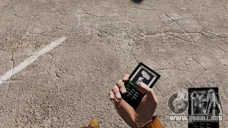 Tema para tu teléfono Linkin Park para GTA 4