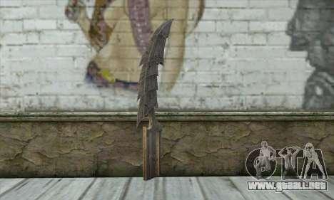 Cuchillo para GTA San Andreas