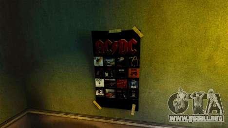 Nuevos carteles en el apartamento de la Novela para GTA 4 sexto de pantalla