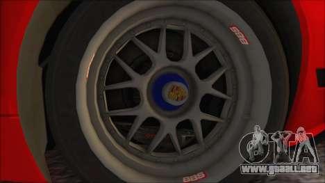 Porsche 911 GT3 RSR para la visión correcta GTA San Andreas