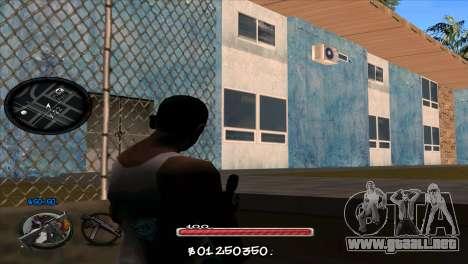 C-HUD by Jayson Wallace para GTA San Andreas segunda pantalla