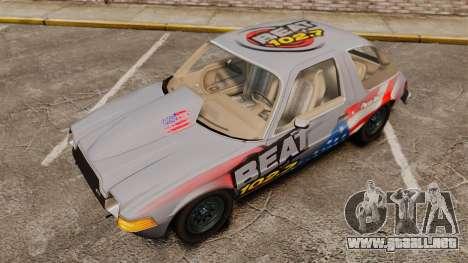 AMC Pacer para GTA 4 vista interior