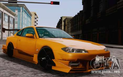 Nissan Silvia S15 GT Uras para GTA San Andreas left