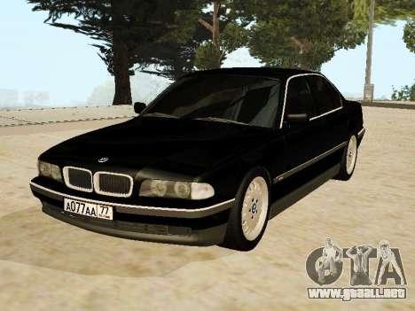 BMW 730 E38 para GTA San Andreas