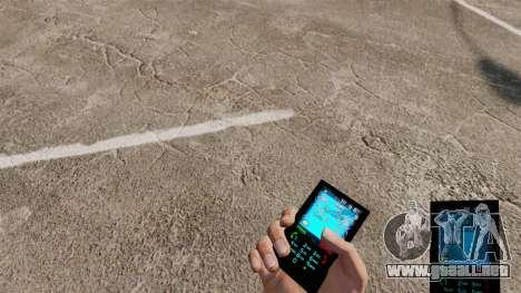 El tema para el teléfono Azul Aqua v2.0 para GTA 4