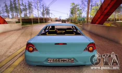 Volga Siber 2.5 AT Restyling para la visión correcta GTA San Andreas