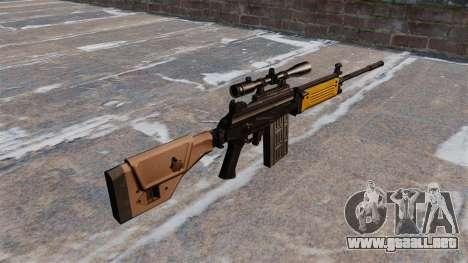 Rifle de asalto IMI Galil para GTA 4 segundos de pantalla
