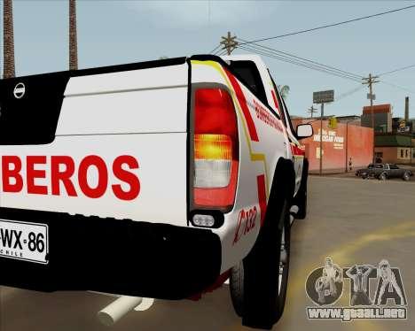 Nissan Terrano para visión interna GTA San Andreas