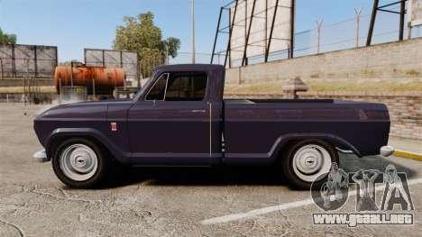 Chevrolet C10 1974 para GTA 4 left