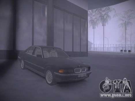 ENBSeries by Pablo Rosetti para GTA San Andreas sucesivamente de pantalla