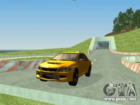 Mitsubishi Lancer  Evolution para GTA San Andreas left
