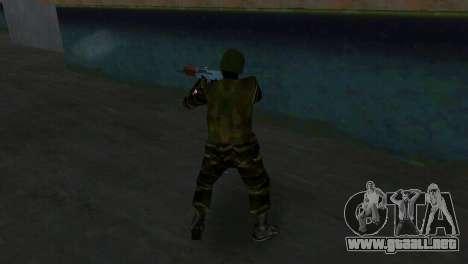 Luchador Alfa Antiterror para GTA Vice City sucesivamente de pantalla