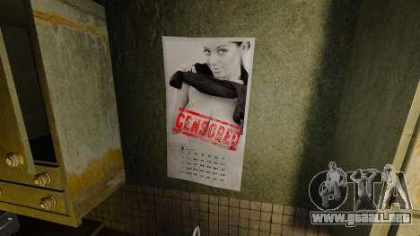 Nuevos carteles en el apartamento de la Novela para GTA 4 quinta pantalla