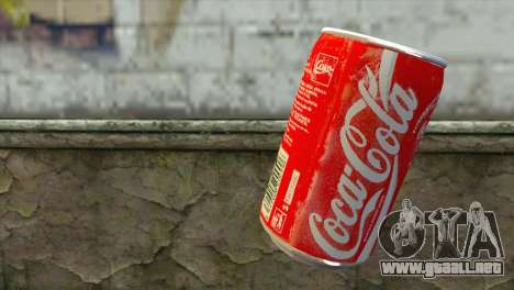 Explosive Coca Cola Dose para GTA San Andreas segunda pantalla