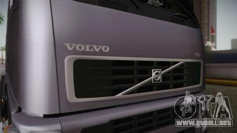 Volvo FH13 500 para visión interna GTA San Andreas