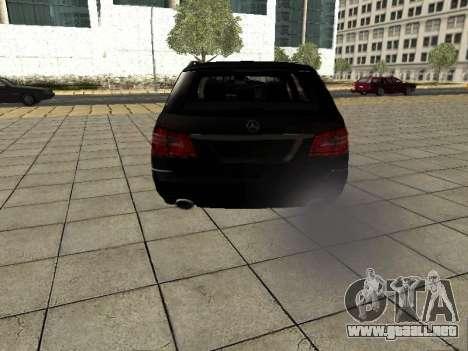 Mercedes-Benz w212 E-class Estate para la visión correcta GTA San Andreas