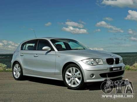 Inicio pantallas BMW 120i para GTA 4 quinta pantalla