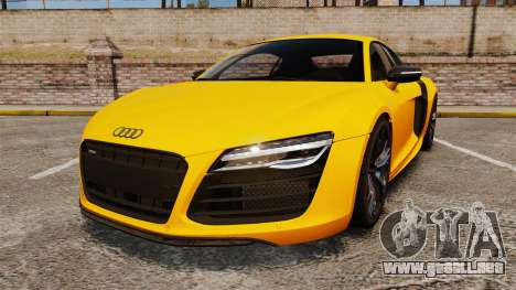 Audi R8 V10 plus Coupe 2014 [EPM] [Update] para GTA 4