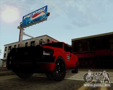 Ford F-150 para GTA San Andreas left