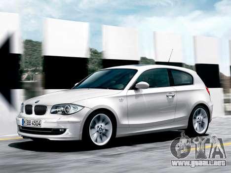 Inicio pantallas BMW 116i para GTA 4