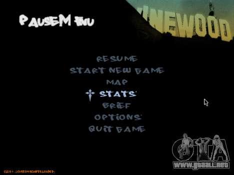 C-HUD Tawer para GTA San Andreas sucesivamente de pantalla
