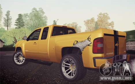 Chevrolet Silverado 2500 LTZ para GTA San Andreas left