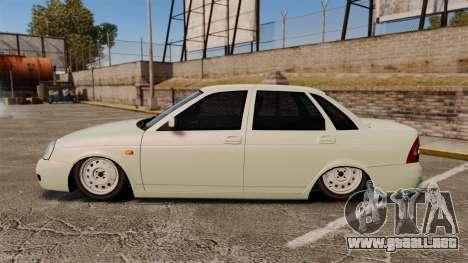 Vaz-2170 Lada Priora Luks para GTA 4 left