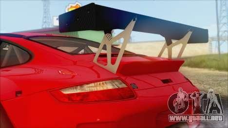 Porsche 911 GT3 RSR para GTA San Andreas vista posterior izquierda