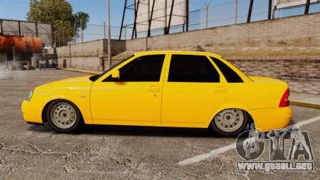 VAZ-Lada Priora 2170 para GTA 4 left