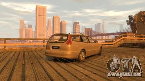 Daewoo Leganza Wagon para GTA 4 Vista posterior izquierda