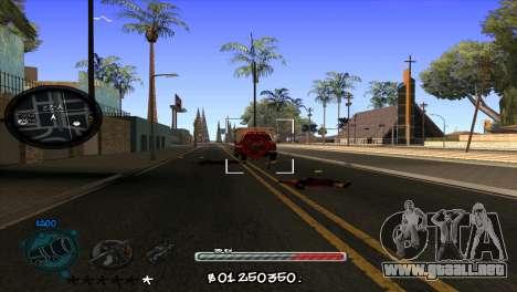 C-HUD by Jayson Wallace para GTA San Andreas tercera pantalla