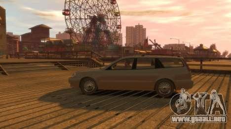 Daewoo Leganza Wagon para GTA 4 vista hacia atrás