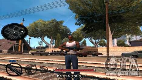 C-HUD by Jayson Wallace para GTA San Andreas