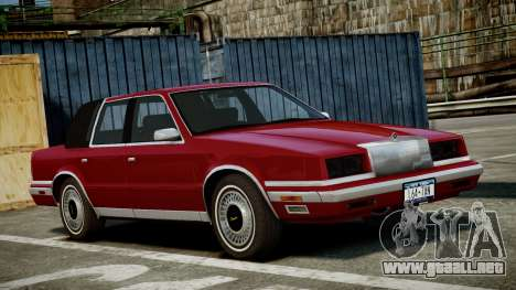 Chrysler New Yorker 1988 para GTA 4