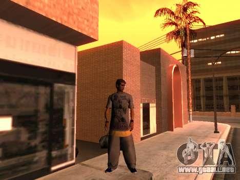 La Piel De Trazadores para GTA San Andreas