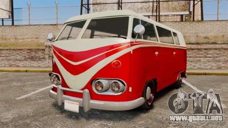 GTA V Burgerfahrzeug Surfer para GTA 4