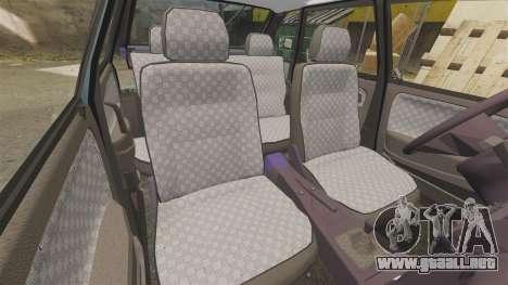 VAZ-2114 Samara-2 para GTA 4 vista superior