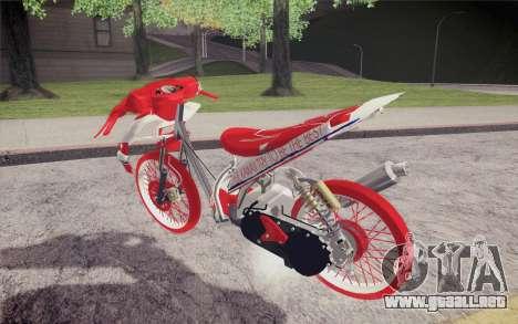 Vario Drag version JKT48 para GTA San Andreas left