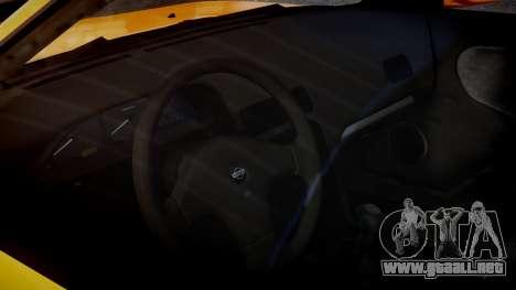 Nissan 240sx Dolor de 1992 para GTA 4 vista interior